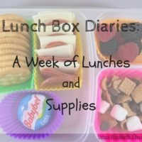 Lunch Box Diaries: A Week of Lunches and Supplies