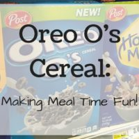 Oreo O's Cereal: Making Meal Time Fun!